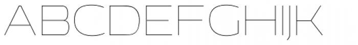 EXT Unicase 0 Font UPPERCASE