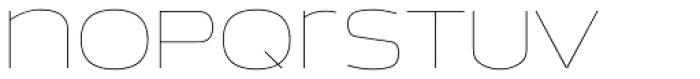 EXT Unicase 0 Font LOWERCASE