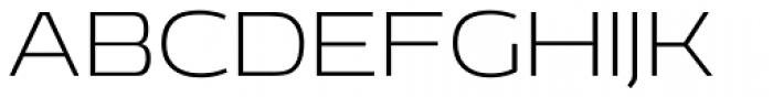 EXT Unicase 200 Font UPPERCASE