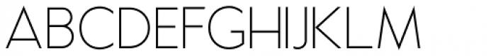 Examiner NF Light Font UPPERCASE