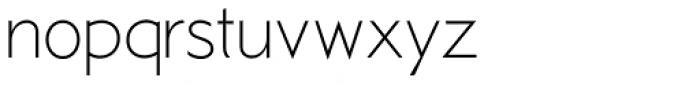 Examiner NF Light Font LOWERCASE