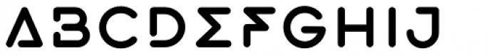 Exarros Regular Font UPPERCASE