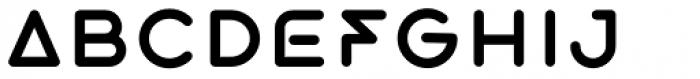 Exarros Regular Font LOWERCASE