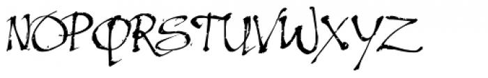 Excalibur SCF Font UPPERCASE