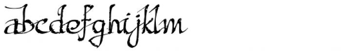 Excalibur SCF Font LOWERCASE