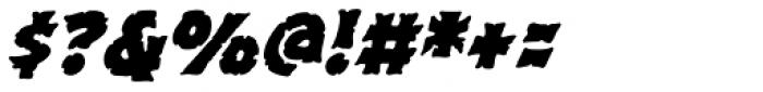 Excalibur Stone Bold Italic Font OTHER CHARS