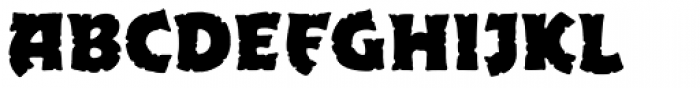 Excalibur Stone Bold Font UPPERCASE