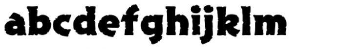 Excalibur Stone Bold Font LOWERCASE