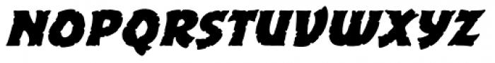 Excalibur Stone Cold Bold Italic Font LOWERCASE