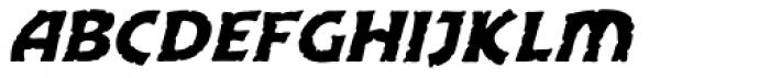 Excalibur Stone Cold Italic Font LOWERCASE