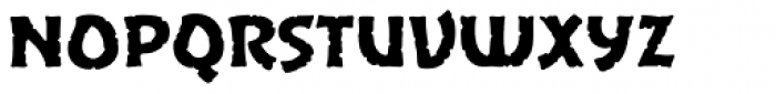 Excalibur Stone Cold Font LOWERCASE