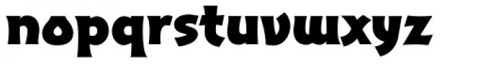 Excalibur Sword Bold Font LOWERCASE
