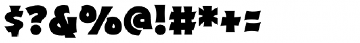 Excalibur Sword Thrust Bold Font OTHER CHARS