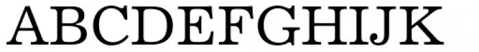 Excelsior Medium Font UPPERCASE