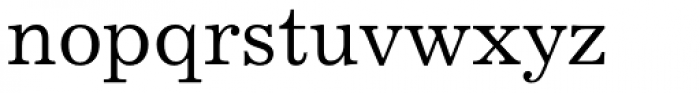 Excelsior Medium Font LOWERCASE