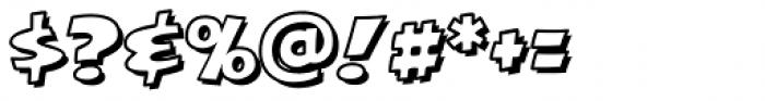 Excelsius Outline Font OTHER CHARS