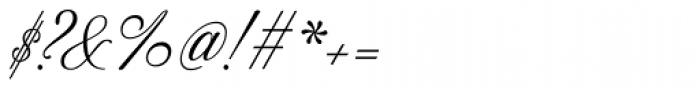 Excelsor Script 10 Font OTHER CHARS