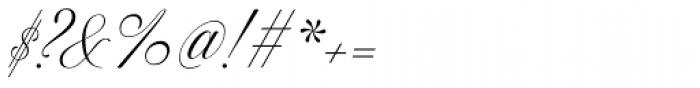 Excelsor Script 120 Font OTHER CHARS