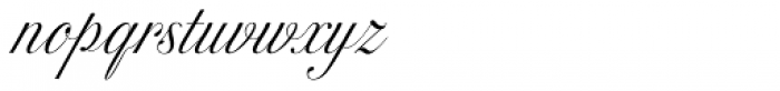 Excelsor Script 120 Font LOWERCASE