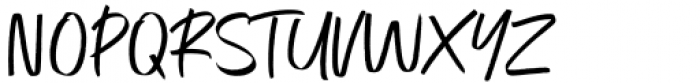 Exceptional Alt Font UPPERCASE