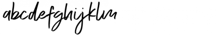Exceptional Alt Font LOWERCASE