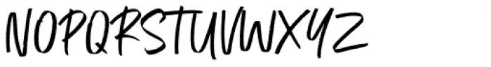 Exceptional Regular Font UPPERCASE