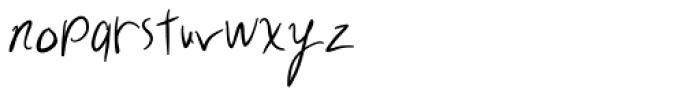 Exchange Student Font LOWERCASE