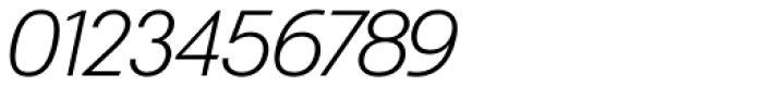 Exec ExtralightItalic Font OTHER CHARS