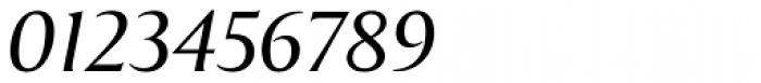 Exemplar Pro Italic Font OTHER CHARS