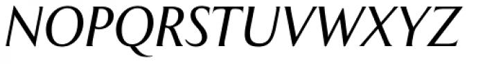 Exemplar Pro Italic Font UPPERCASE