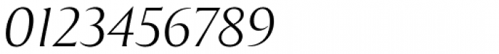 Exemplar Pro Light Italic Font OTHER CHARS