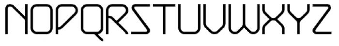 Exhaust Light Font UPPERCASE