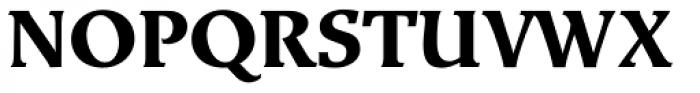 Exlibris Std Bold Font UPPERCASE