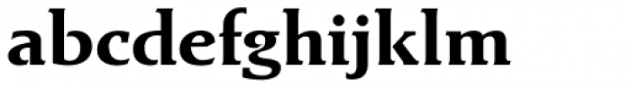 Exlibris Std Bold Font LOWERCASE