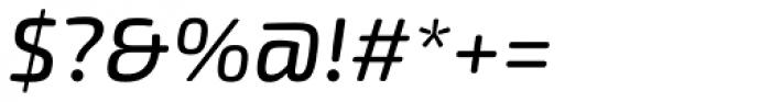 Exo Soft Medium Italic Font OTHER CHARS