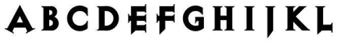 Exocet Heavy Font UPPERCASE