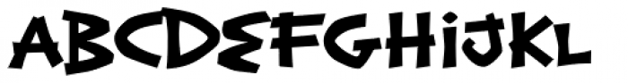 Exotic Island BTN Bold Font LOWERCASE