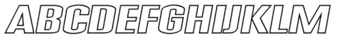 Expansion N44 Font UPPERCASE