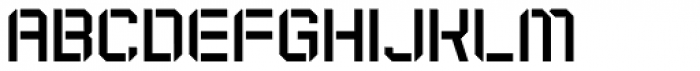 Expedition Stencil Font LOWERCASE