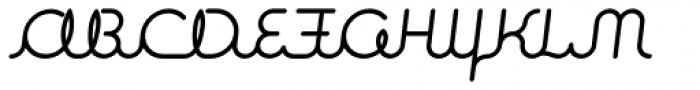 Expletive Script Regular Slant Font UPPERCASE