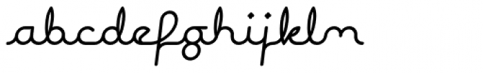 Expletive Script Regular Slant Font LOWERCASE