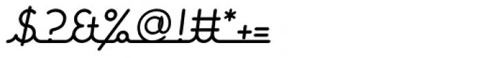 Expletive Script Slant Alternate Font OTHER CHARS