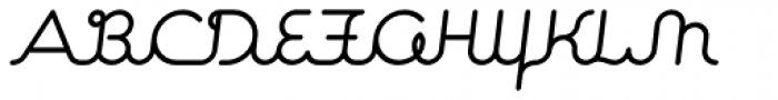 Expletive Script Slant Alternate Font UPPERCASE