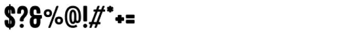 Explorer Condensed Regular Font OTHER CHARS