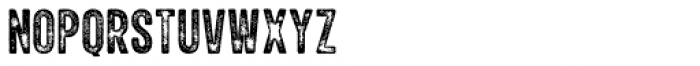 Explorer Print Condensed Regular Font UPPERCASE