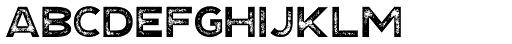 Explorer Print Sans Bold Font UPPERCASE