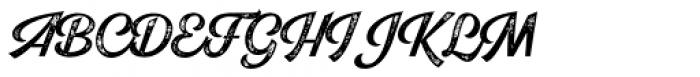 Explorer Print Script Regular Font UPPERCASE