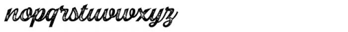 Explorer Print Script Regular Font LOWERCASE