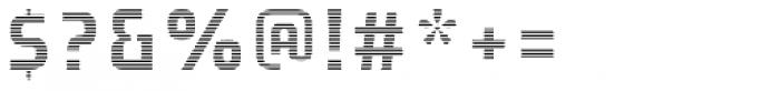 Expreso Forma Interna Rayada 1 Font OTHER CHARS