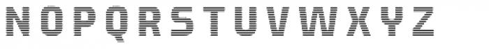 Expreso Forma Interna Rayada 1 Font LOWERCASE